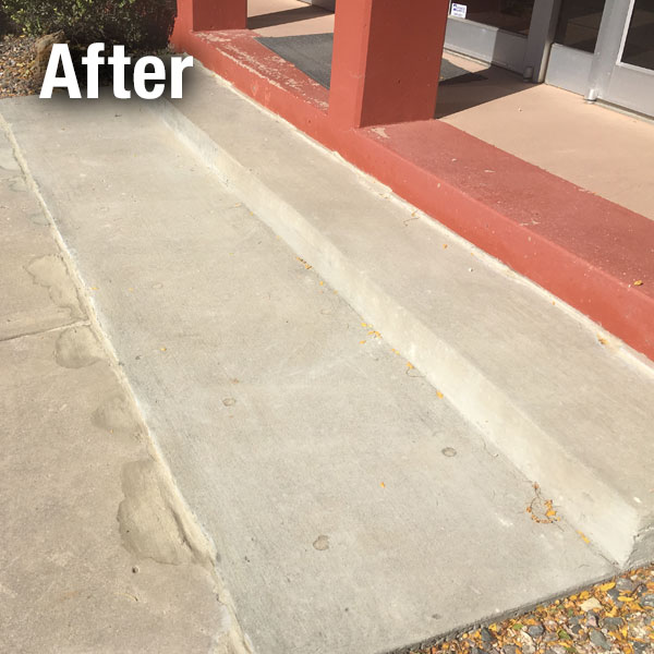 Commercial Concrete Repair - Lafayette - After