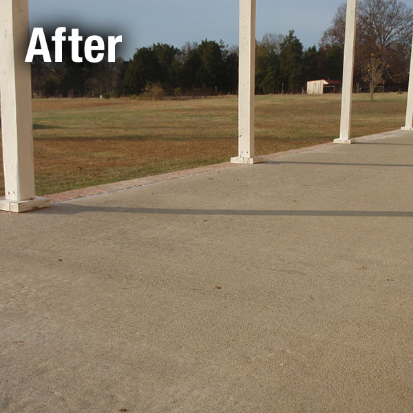Lafayette​ Concrete Patio Leveling - After